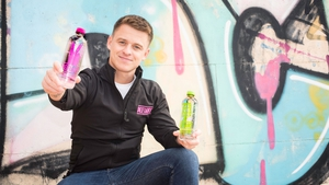 Aidan Roche founder of Defiant Water