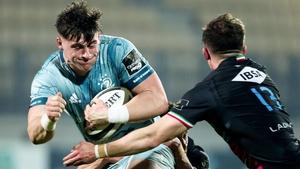 Dan Sheehan scored Leinster's first try