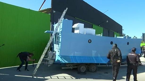 Spanish police seize homemade drug smuggling submarine