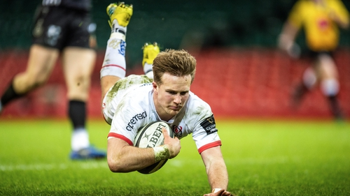 Stewart Moore scores for Ulster