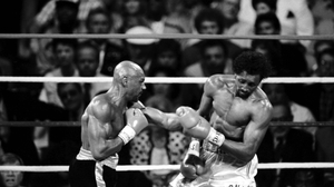 Marvin Hagler's fight against Thomas Hearns is regarded as one of the best of all time