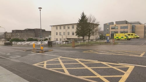 The man passed away at Letterkenny University Hospital yesterday