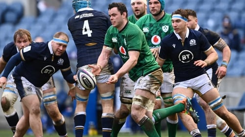 James Ryan helped Ireland to a 27-24 win