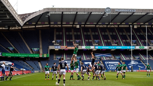 Murrayfield has been without spectators for over a year