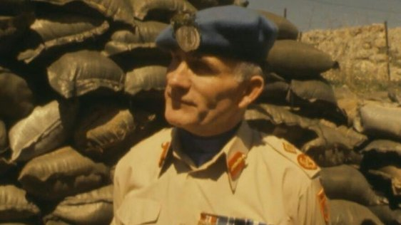 Major General William Callaghan, Lebanon (1981)