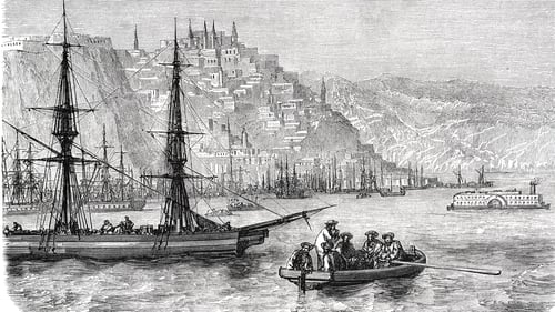 A view of Quebec in the 1860s