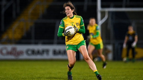 Emer Gallagher in action with Donegal