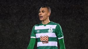 Burke's new deal will keep him at Shamrock Rovers until 2024