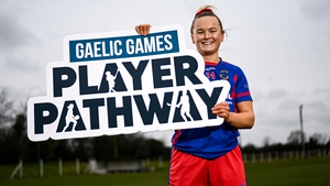Meath and Dunboyne footballer Vikki Wall at the launch of the new Gaelic Games Player Pathway