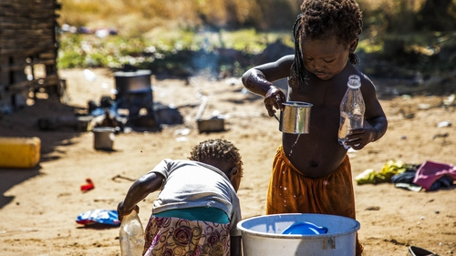 More than 670,000 people have been displaced by the violence in Mozambique