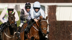 Blackmore jumps clear of Champion Hurdle rivals aboard Honeysuckle