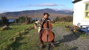 Patrick Dexter performed at the 'Shades of Green' virtual event (Courtesy YouTube Patrick Dexter Cello)
