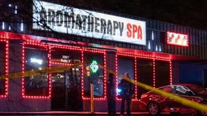 The shootings occurred at spas around Atlanta