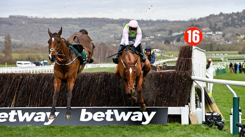 Monkfish and Paul Townend survive a blunder at the last
