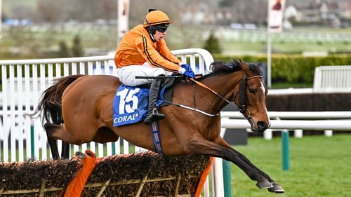 Heaven Help Us made all under Richie Condon to take the Coral Cup at 33-1