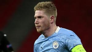 De Bruyne scored for City last night