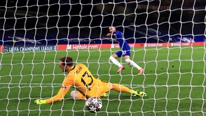 Hakim Ziyech slooted home the only goal at Stamford Bridge