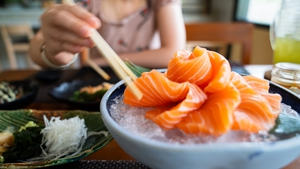 A chain of sushi restaurants in Taiwan was offering free meals to people named Salmon (File pic)