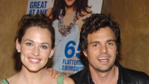 """Jennifer Garner: """"Our first rehearsal I think it was like Mark [Ruffalo], Judy [Greer], and me, and Judy and I were both dancers growing up, and poor Mark didn't know that and he came in and he hated the rehearsal process so much he almost dropped out."""""""