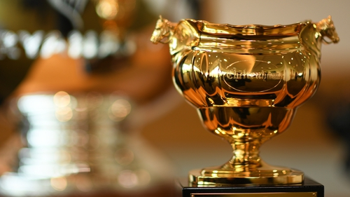 The Cheltenham Gold Cup Trophy