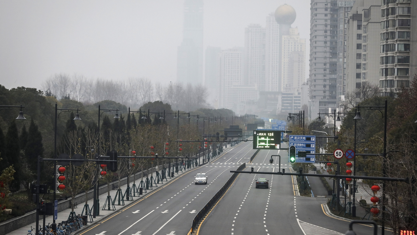 Image - Wuhan went into a full lockdown on 23 January 2020