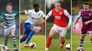 (Left to right): Liam Scales, Tunmise Sobowale, John Mountney and Chris Lyons