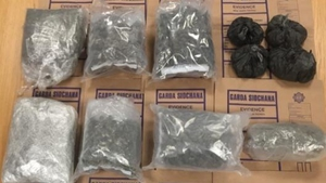 The drugs are suspected to be cannabis herb and cocaine