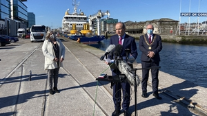 Micheál Martin announced the funding in Cork this morning