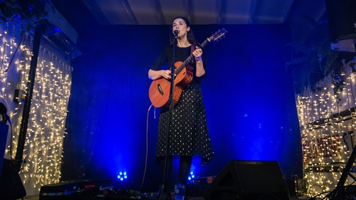 Lisa Hannigan performing at Coughlan's Cork (Pic: Shane Hiram)