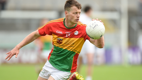 Paul Broderick helped Carlow reach the 2018 Leinster semi-final and round 3 of the qualifiers the year before that