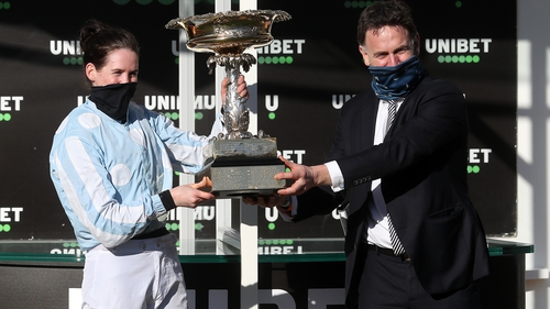 Henry de Bromhead and Rachael Blackmore enjoyed a week to remember at Cheltenham