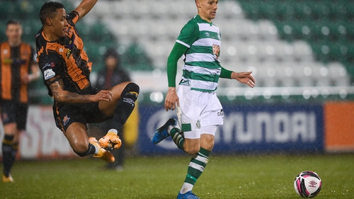 Dundalk's Sonni Nattestad available to face Sligo, despite being sent off for this tackle last week