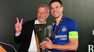 Abramovich (L) has bankrolled a glorious era in Chelsea's history