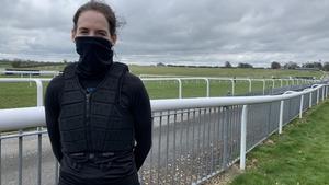 Rachael Blackmore at Thurles Racecourse today