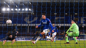 Ilkay Guendogan heads home Manchester City's opener