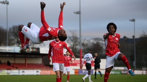 Romeo Parkes equalised for Sligo Rovers as they took a point at home to Dundalk in the Premier Division opener