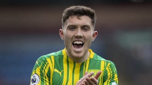 Dara O'Shea has impressed for West Brom in a difficult campaign for the Premier League club
