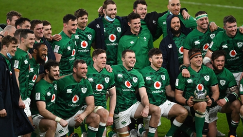 There are plenty of Irish players who will be hoping to make the Lions squad
