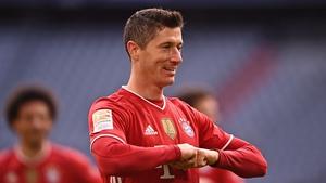 Lewandowski already has 35 league goals to his name this season