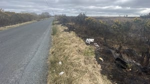 Locals in Roscommon claim the fire began in an area where heavy littering had taken place