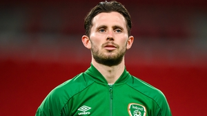 Alan Browne's last Ireland appearance was in the friendly against England at Wembley last October
