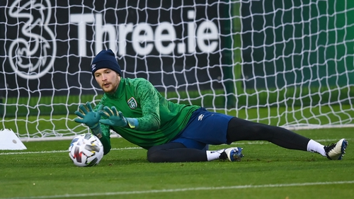 Caoimhin Kelleher is out of Ireland's World Cup qualifiers