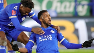 Kelechi Iheanacho is sticking with Leicester