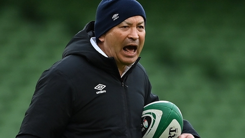 Eddie Jones is under contract with England until the 2023 Rugby World Cup
