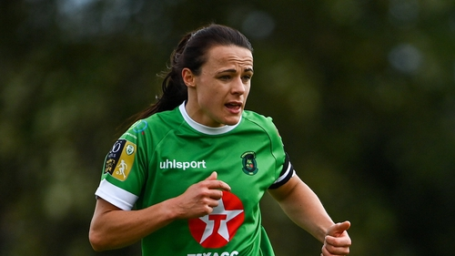Áine O'Gorman is in her third spell at Peamount United