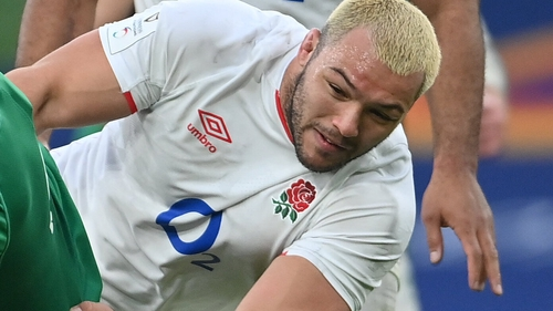 Ellis Genge came on as a replacement at half-time