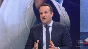 Leo Varadkar was speaking during a Claire Byrne Live debate on the issue of a United Ireland