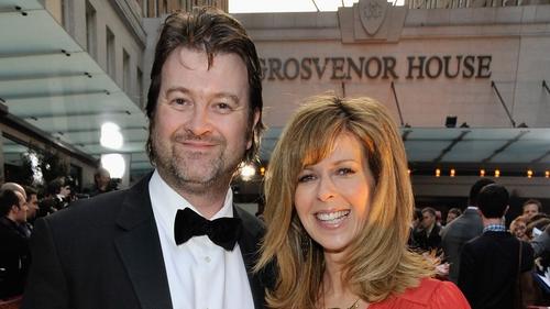 Derek Draper and Kate Garraway, pictured in London in April 2009