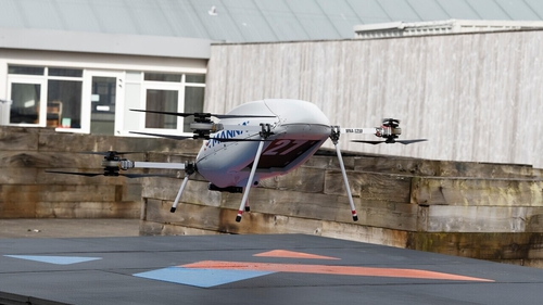 Manna Drone Delivery signs up Samsung for Oranmore deliveries