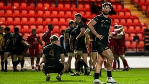 Connacht's Tom Daly reacts to the Pro14 defeat to Scarlets